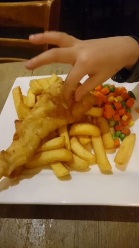 FISH CHIPS for kids