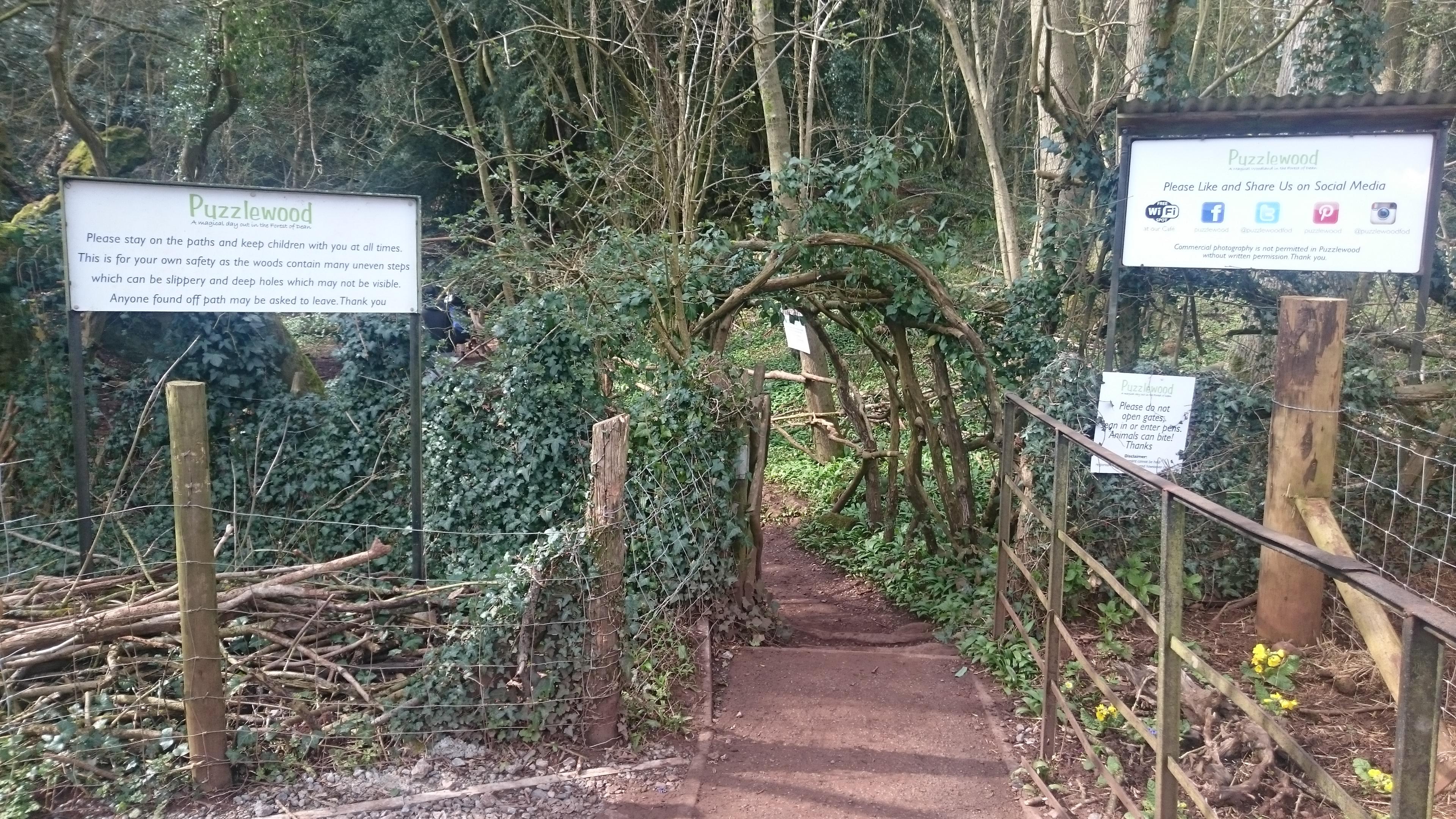 puzzlewood entrance