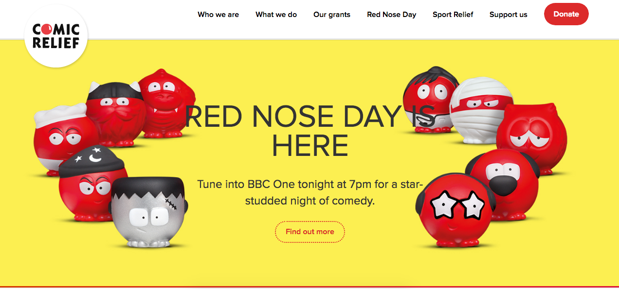 red nose day by comic relief