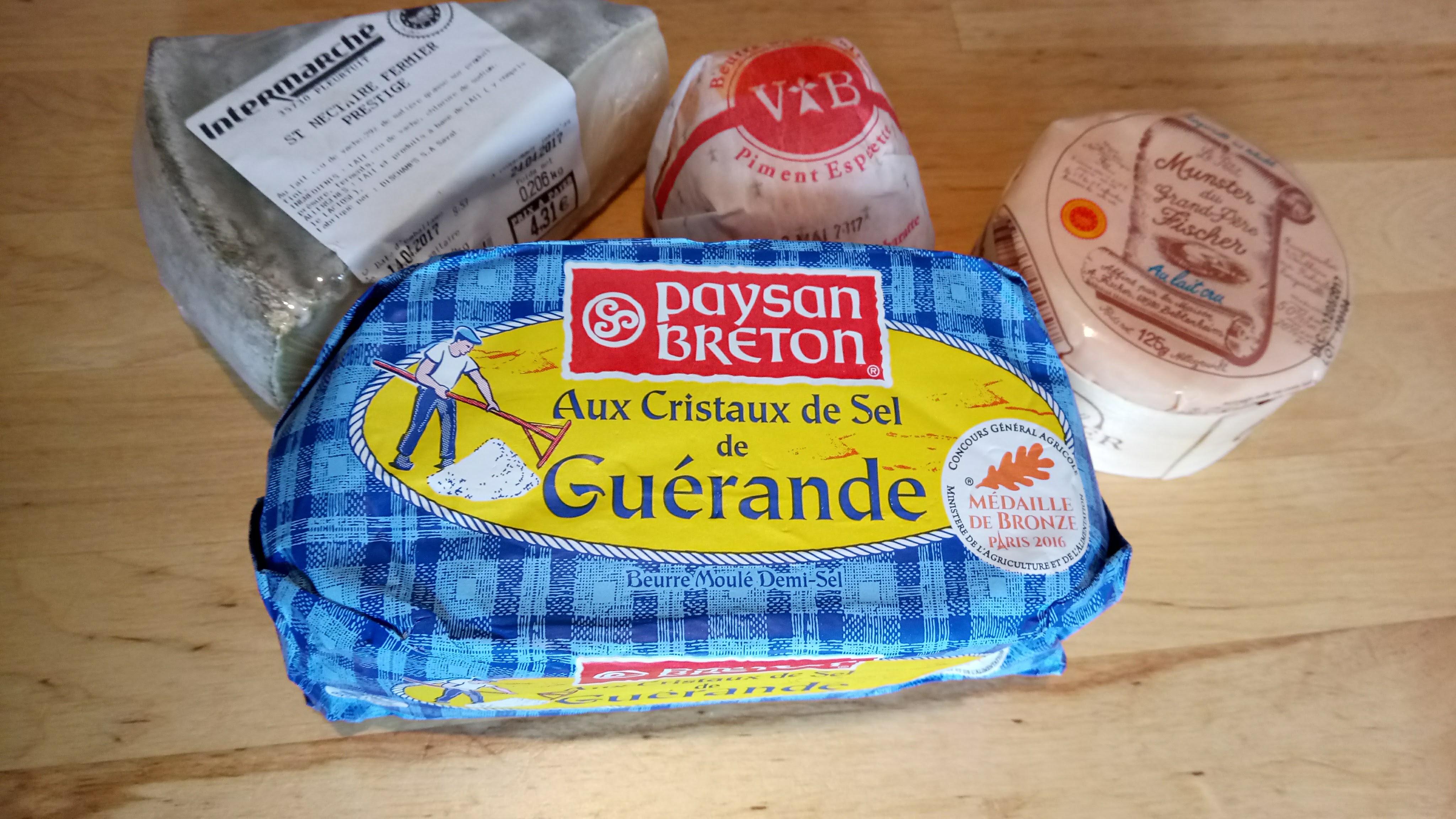 バター・チーズ