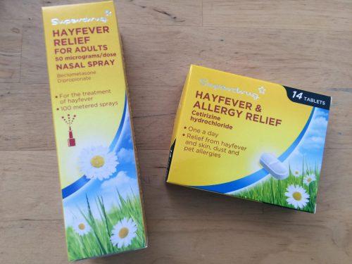hay fever 薬